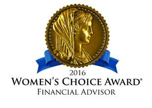 Women's Choice Award Financial Advisor